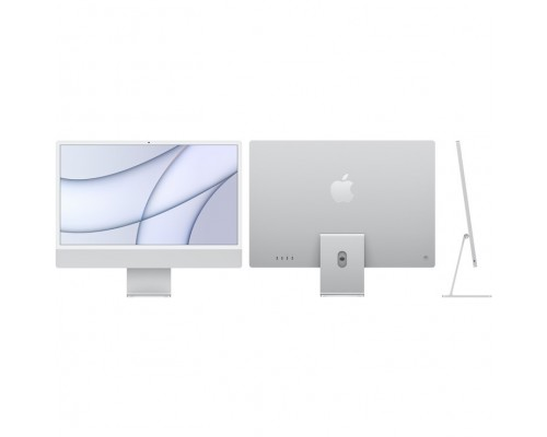 Apple iMac Z12R000PK, Z12R/4 with Numeric Keypad Silver 24 Retina 4.5K Apple M1 chip with 8-core CPU and 7-core GPU/8GB/1TB SSD/with Numeric Keypad (2021)