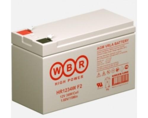 WBR Батарея HR1234W (12V/9Ah)
