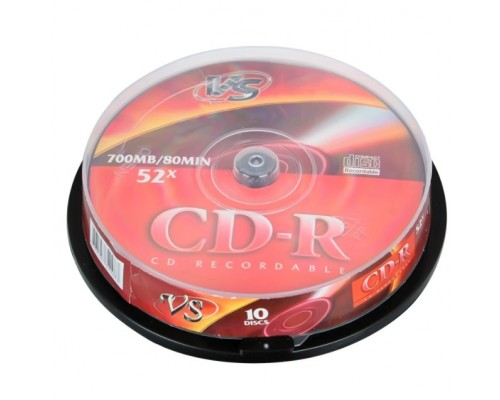 и VS CD-R 80 52x CB/10