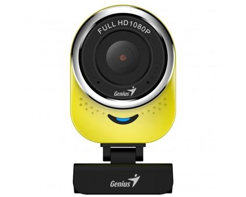 Web-камера Genius QCam 6000 желтая (Yellow) new package