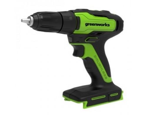 Greenworks 24В Дрель-шуруповерт аккумуляторная (в комплекте с АКБ 24В 2Ач и зарядн.уст-ом) 3704007UA