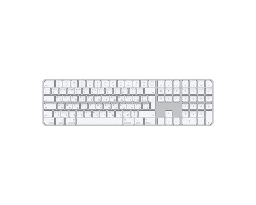 MK2C3RS/A Apple Magic Keyboard with Touch ID and Numeric Keypad for Mac computers with Apple silicon - Russian