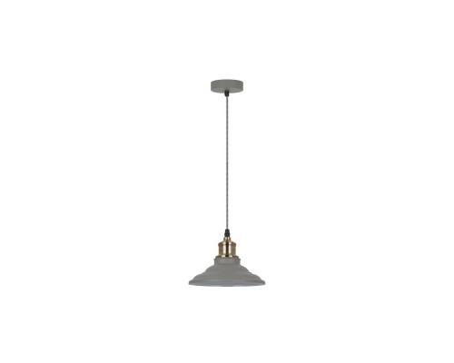 Camelion PL-600 C68 серый + стар медь (Светильник подвесной LOFT, 1х E27, 40Вт, 230В, металл)