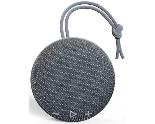 HIPER ATRIA GRAY H-OS1 беспроводная, 130-18000 Гц, 85 дБ, Bluetooth 5.0/AUX 3.5мм/microUSB, Handsfree, 800 мАч, IP67, серая