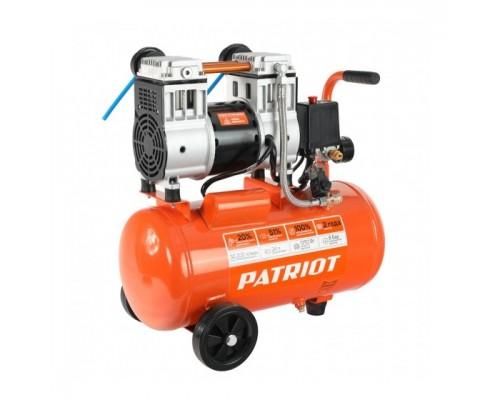 PATRIOT WO 24-220 Компрессор 525301920 безмасляный, 200 л/мин, 8 бар, 1250 Вт, 24 л, быстросъемный 1/4