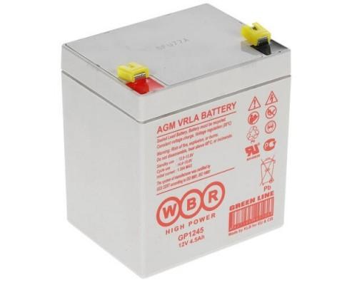 WBR Батарея GP1245 (12V/4,5Ah) (16W)