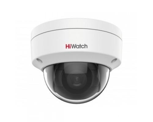 HiWatch DS-I402(С) (2.8 mm) Видеокамера IP 2.8-2.8мм цветная корп.:белый