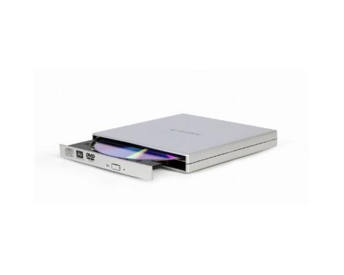 USB 2.0 Gembird DVD-USB-02-SV пластик, серебро