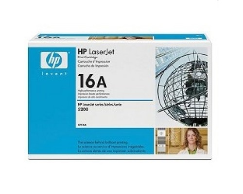 Расходные материалы HP Q7516A Картридж ,BlackLaserJet 5200,