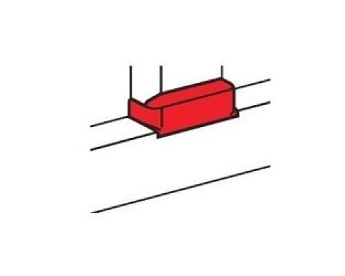 Legrand 010740 Отвод плоский на кабель-канал шириной 105 мм - для односекционных кабель-каналов DLP 50х105 - белый