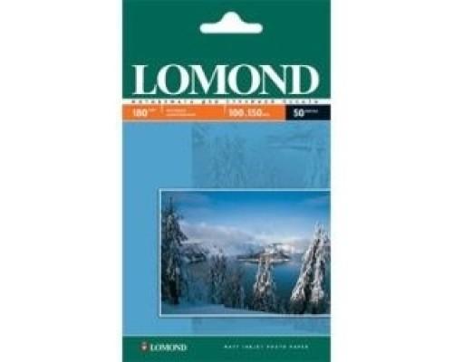 LOMOND 0102083 Матовая фотобумага A6, 10х15, 180г/м2, 600 л.