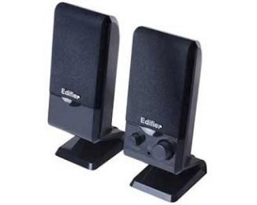 Колонки Edifier M1250, 2.0, Black, 2Wx2,USB интерфейс, портативные
